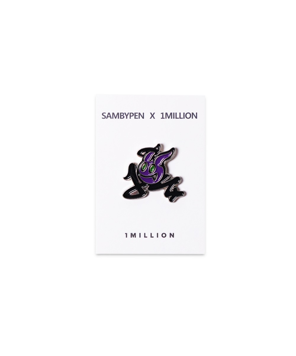 SAMBYPEN X 1M DEVIL PIN [PURPLE]
